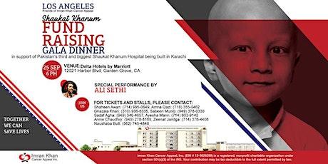 Shaukat Khanum Fundraising Gala Dinner in Los Angeles, USA tickets