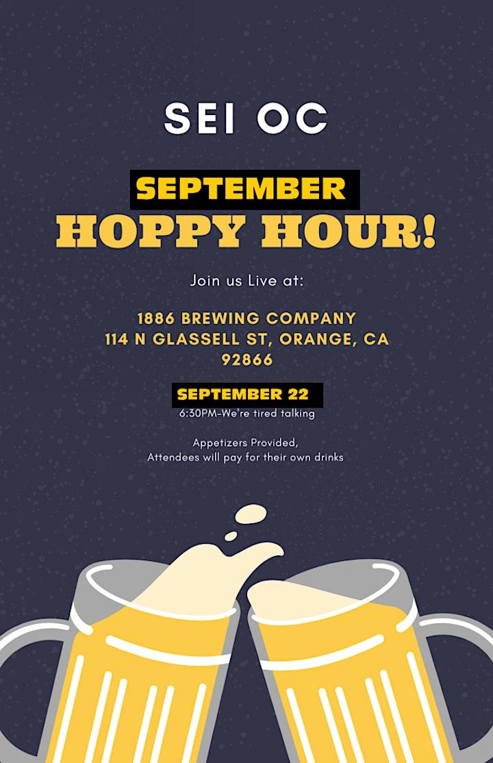 SEI OC-September Hoppy/Happy Hour image