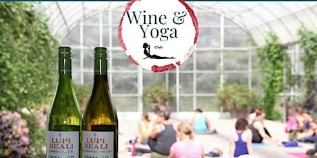 Wine & Yoga in the Garden tickets