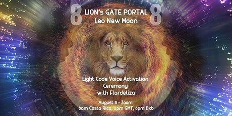 8/8 LIONS's GATE New Moon Light Code Voice Activation tickets