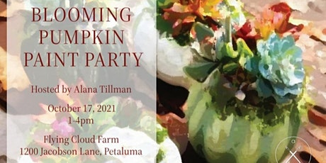 Artxcursion Presents Blooming Pumpkin  Paint Party tickets