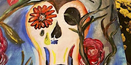 Paint Eat Sip  --- Happy Skull tickets