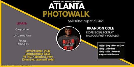 Atlanta Photowalk w/ Portrait Photographer Brandon Cole tickets