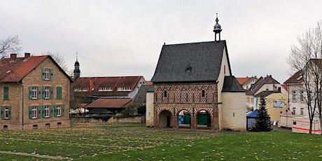 Mi,15.09.21 Wanderdate Kloster Lorsch und Freilichtlabor Lauresham für 50+ Tickets