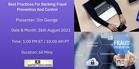 Best Practices For Banking Fraud Prevention And Control tickets