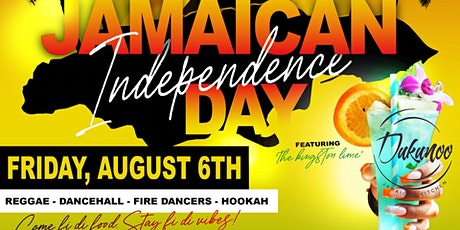 Jamaican Independence Day Celebration at Dukunoo tickets