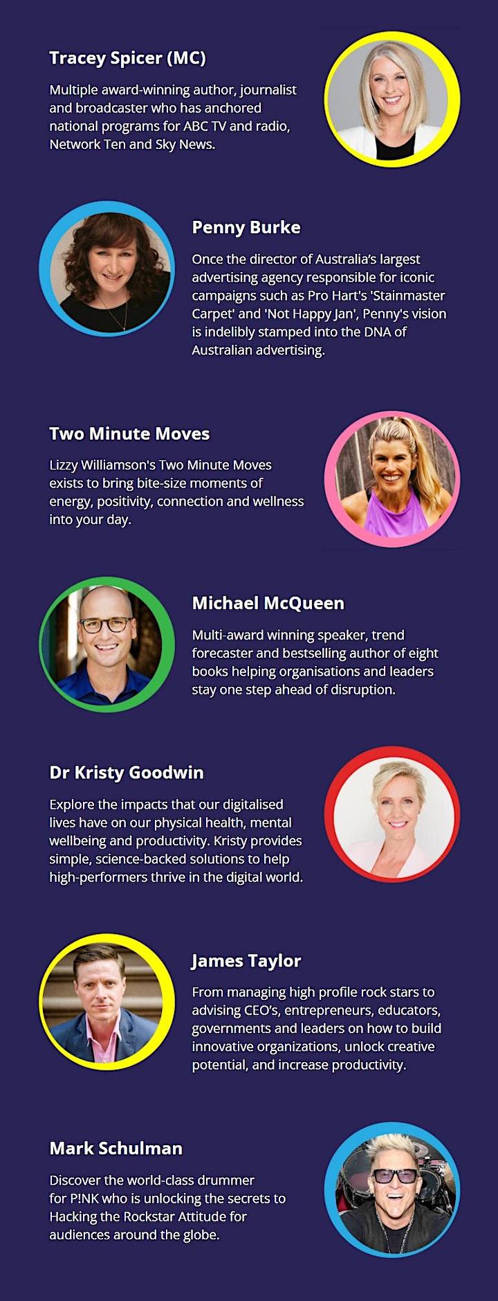 Ovations Online Global Speaker Showcase 2021 image