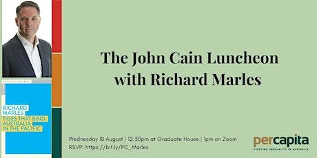 John Cain Luncheon with Richard Marles tickets