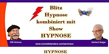 Blitz-Hypnose lernen mit Sicherheit und Selbstvertrauen Tickets