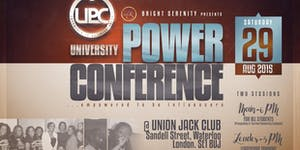 Uni. Power Conference (2 Sessions) - London 2015 -...