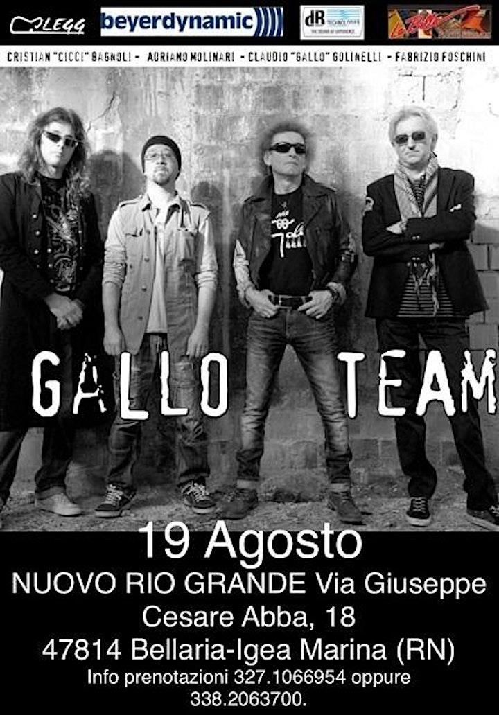 Immagine Gallo Team - Cena Concerto
