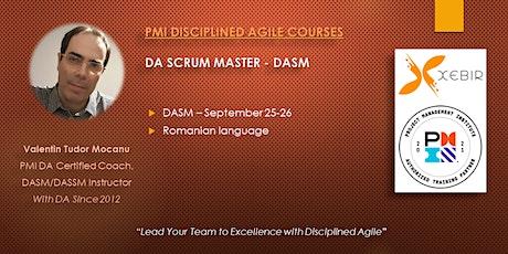 PMI Disciplined Agile Scrum Master (Romanian) tickets