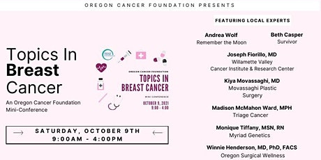 Oregon Cancer Foundation Mini Conference: Topics in Breast Cancer tickets