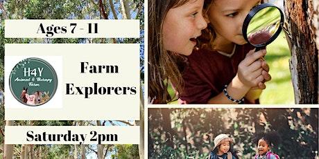 Farm Explorers Club 5-8 & 9-12years tickets