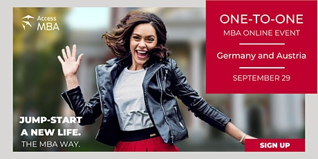 Access Virtual MBA Event Germany Tickets