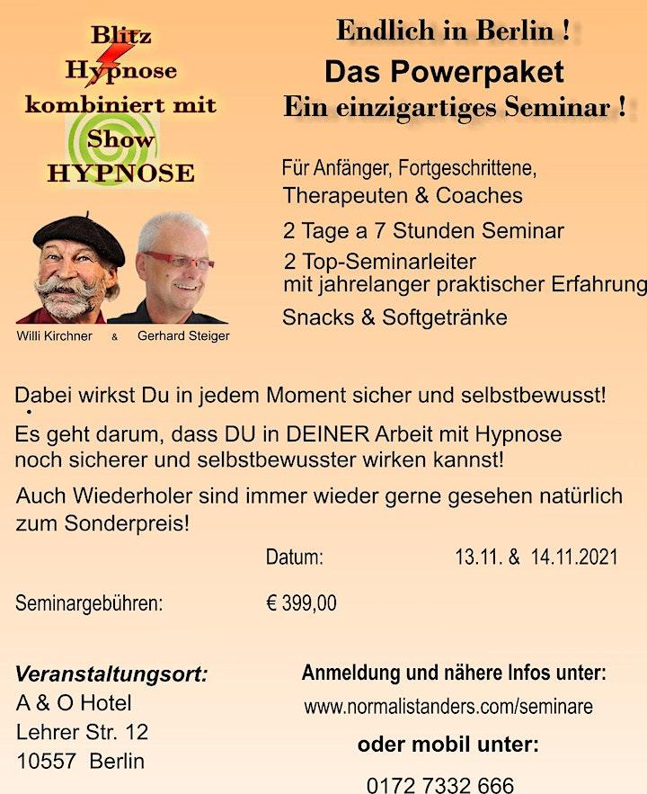 Blitz-Hypnose lernen mit Sicherheit und Selbstvertrauen: Bild