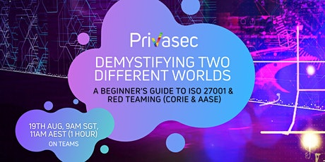 Demystifying Two Different Worlds: A Look into ISO 27001 and Red Teaming tickets