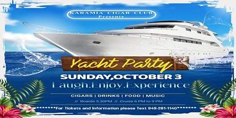 Cigar Yacht Party tickets