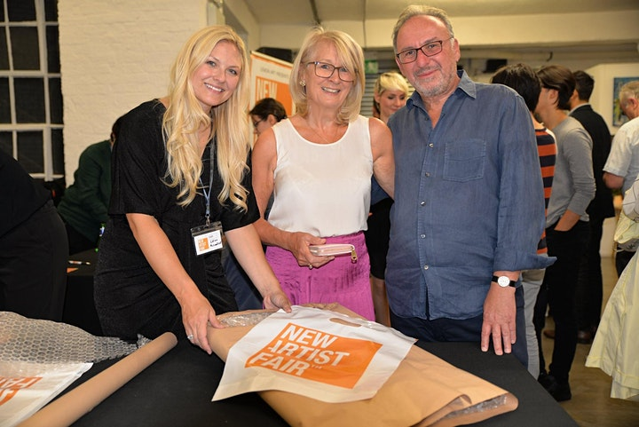 New Artist Fair, London 1st to 3rd October 2021 image