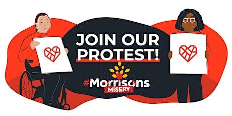Morrisons Protest Sutton biglietti