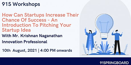 How Can Startups Increase Their Chance Of Success tickets
