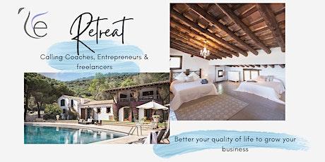 Retreat for Entrepreneurs to build confidence & have fun entradas