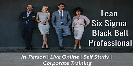 10/25  Lean Six Sigma Black Belt Certification in Tulsa tickets