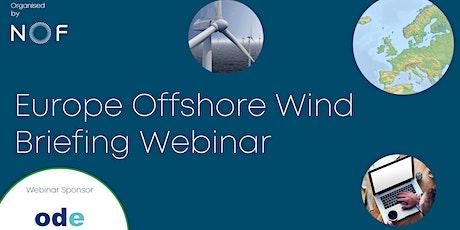 Europe Offshore Wind Briefing Webinar tickets