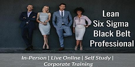 10/25  Lean Six Sigma Black Belt Certification in Seattle tickets