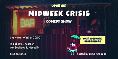 Midweek Crisis: Stand-Up Comedy Show in English tickets