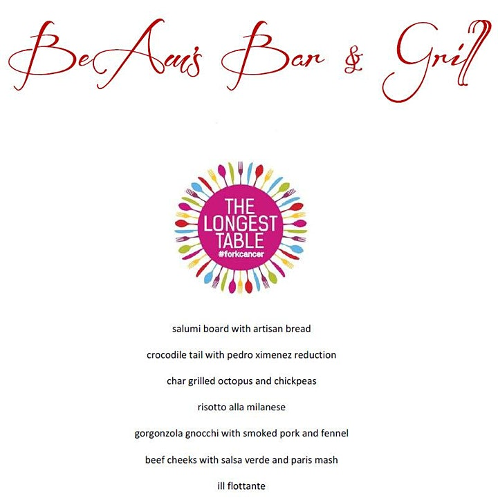 BeAm's Bar & Grill presents The Longest Table image