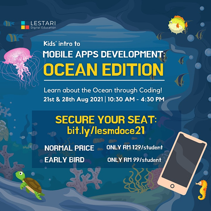 Kids' intro to Mobile Apps Development: Ocean Edition image