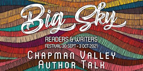 Chapman Valley Author Talk tickets
