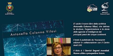 CONFERENZA SULL'INTELLIGENCE di Antonella Colonna Vilasi biglietti