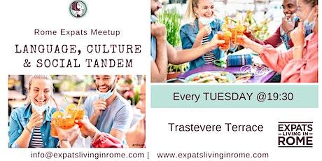 Tuesdays Language, Culture & Social Tandem | Trastevere biglietti
