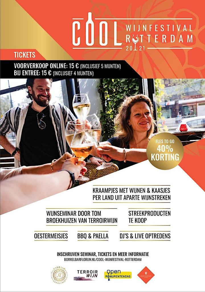 Afbeelding van COOL Wijnfestival Rotterdam 2021