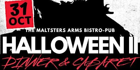 HALLOWEEN II CABARET DINNER tickets