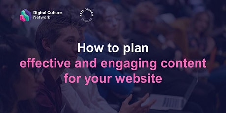 How to plan effective and engaging content for your website tickets
