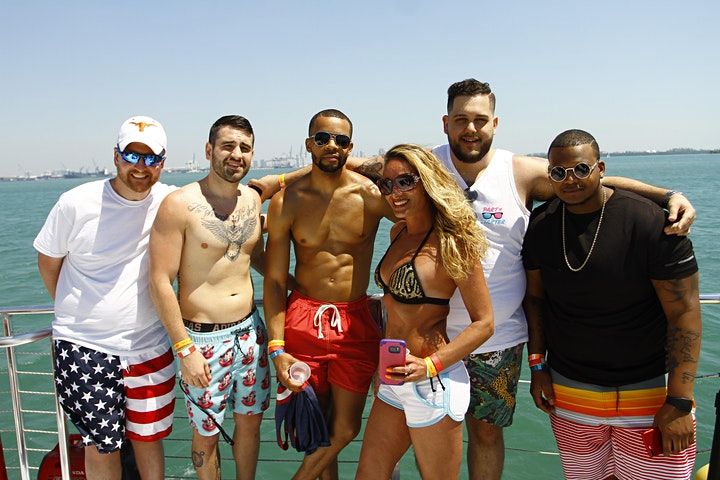 PARTY BOAT MIAMI BEACH + DRINKS image