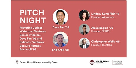 Pitch Night: Brown founders and Brown investors tickets