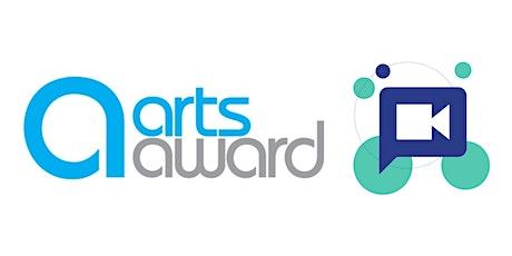 Delivering Arts Award digitally tickets