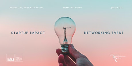 Startup Impact Networking Event tickets