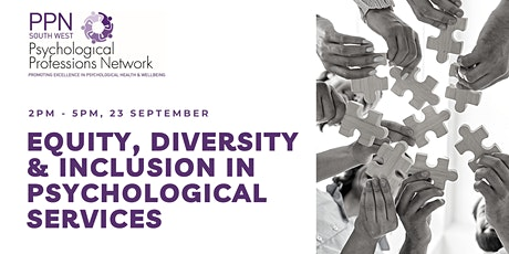 Equity, Diversity and Inclusion in Psychological Services - PPN SW tickets
