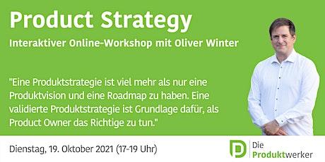 Produktstrategie Tickets