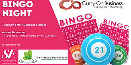 Curry On Business - Bingo Night tickets