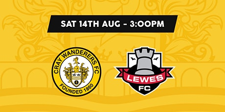 Cray Wanderers VS Lewes tickets