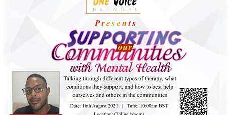 Supporting Our Communities with Mental Health tickets