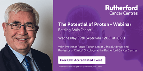 The Potential of Proton: Battling Brain Cancer tickets