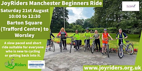 Beginners Ride Barton Square (Trafford Centre) to Worsley tickets