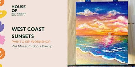 West Coast Sunset – Paint & Sip tickets